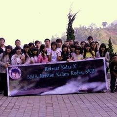 Photo taken at SMA Kristen Kalam Kudus by Rachel L. on 2/7/2012
