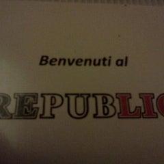 Photo taken at Republic by Simon L. on 10/8/2011