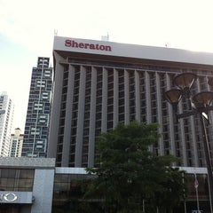 Photo taken at Sheraton Panama Hotel & Convention Center by Minor C. on 8/1/2011