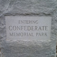 Photo taken at Confederate Memorial Park by GRAY on 11/29/2011