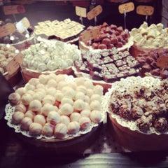 Photo taken at Львівська майстерня шоколаду / Lviv Handmade Chocolate by Lia P. on 9/1/2012