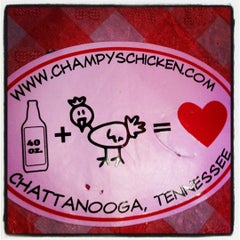 Photo taken at Champy's Famous Fried Chicken by Tiffany R. on 7/20/2012