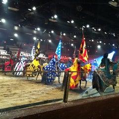 Photo taken at Medieval Times Dinner & Tournament by TerriAnn v. on 9/6/2012