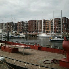 Photo taken at Jachthaven Scheveningen by Bas K. on 8/30/2011