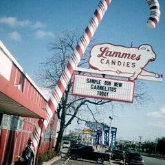 Photo taken at Lammes Candies by Steph M. on 3/12/2011