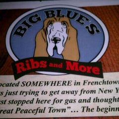 Photo taken at Big Blue's Ribs And More by Michael C. on 2/14/2012