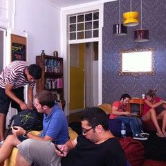 Photo taken at Travelers House Hostel by Çağıl A. on 9/15/2011
