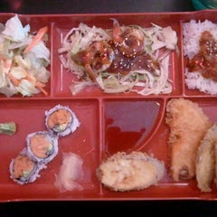 Photo taken at Wasabi House by Isaac M. on 12/8/2011