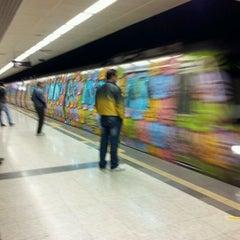Photo taken at Sanayi Metro İstasyonu by Cem T. on 10/15/2011