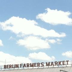 Photo taken at Berlin Farmer's Market & Shopping Center by Stephanie on 5/28/2011