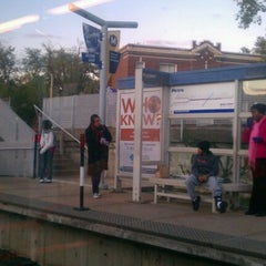 Photo taken at MetroLink - Delmar Loop Station by Chay R. on 10/20/2011