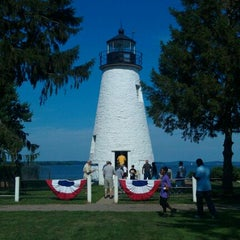Photo taken at Concord Point and Lighthouse by Mike on 7/2/2011