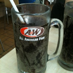 Photo taken at A&W by Marchi N. on 5/7/2012