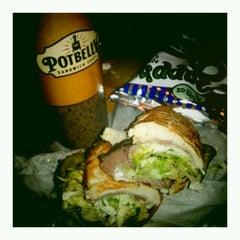 Photo taken at Potbelly Sandwich Shop by tiffany s. on 1/5/2012