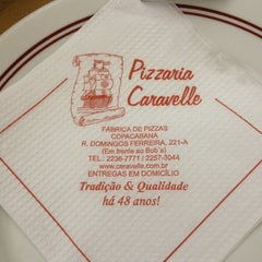 Photo taken at Caravelle Pizzaria by Renata T. on 4/28/2012