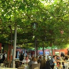 Photo taken at Ristorante Al Giardinetto by Valentina B. on 6/10/2012