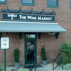 Photo taken at The Wine Market by Niki S. on 6/24/2012