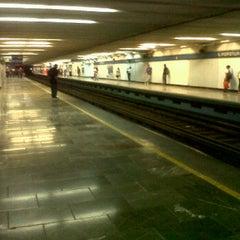 Photo taken at Metro Popotla (Línea 2) by Paulina G. on 6/28/2012