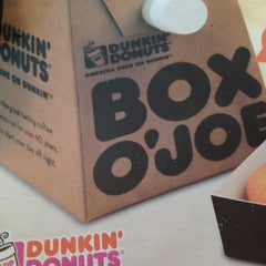 Photo taken at Dunkin' Donuts by Ociel R. on 8/22/2012