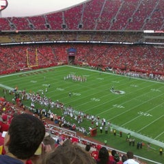 Photo taken at Arrowhead Stadium by Thoroughbred F. on 8/11/2012