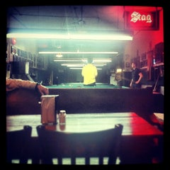 Photo taken at Booche's Billiards Hall by Eric Z. on 2/12/2012
