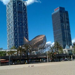 Photo taken at Hotel Arts Barcelona by Mon M. on 4/24/2012