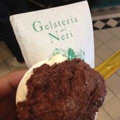 Photo taken at Gelateria dei Neri by Luca B. on 5/30/2012