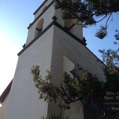 Photo taken at Mission San Buenaventura by Susan E. on 8/12/2012
