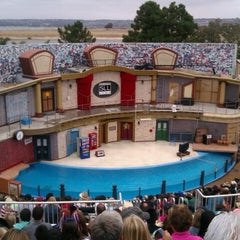 Photo taken at Sea Lion and Otter Stadium by Beth L. on 7/4/2012