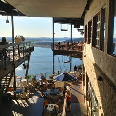 Photo taken at The Oasis on Lake Travis by Jonathan T. on 4/22/2012