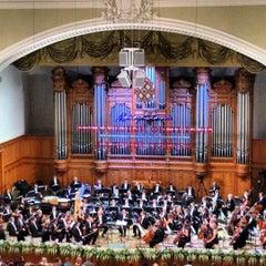 Photo taken at Московская государственная консерватория им. П. И. Чайковского by Evgeny L. on 4/24/2012