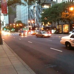Photo taken at The Magnificent Mile by Kevin M. on 8/29/2012