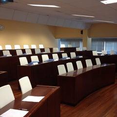 Photo taken at Escuela de Negocios NovaGalicia Banco by Alberto L. on 5/25/2012