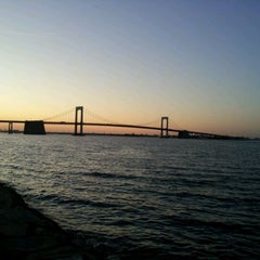 Photo taken at Throgs Neck Bridge Lookout Parking Lot by Edgar L. on 3/14/2012