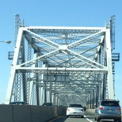 Photo taken at Outerbridge Crossing by Ruth C. on 10/20/2012