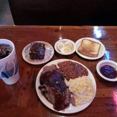 Photo taken at Big Al's Smokehouse BBQ by Ed v. on 10/23/2012