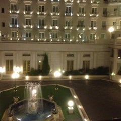 Photo taken at Grand Hotel Palace by Julie on 10/19/2012