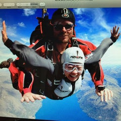 Photo taken at NZONE Skydive Queenstown by V on 2/17/2015