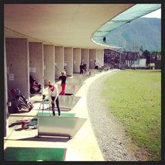 Photo taken at Golf Club Lugano by bmw b. on 3/16/2013