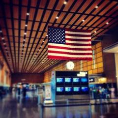 Photo taken at Boston Logan International Airport (BOS) by Stephen H. on 7/5/2013