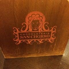 Photo taken at Chocolateria San Churro by Donna G. on 4/13/2014