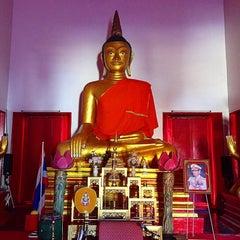 Photo taken at วัดพุทธมงคลนิมิตร (Wat Buddhamongkolnimit) by Tim L. on 2/7/2016