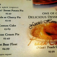 Photo taken at Niecie's Restaurant by Michelle B. on 9/15/2012