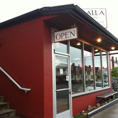 Photo taken at Valhalla Coffee Roasters by Mary L. on 3/1/2013