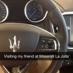 Photo taken at Maserati of San Diego by Eug K. on 3/7/2014