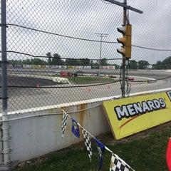Photo taken at Toledo Speedway by Bob M. on 8/23/2014