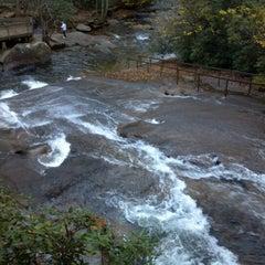 Photo taken at Sliding Rock by Scott B. on 10/14/2012