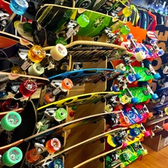 Photo taken at Jack's Surfboards by Vanessa G. on 5/1/2015