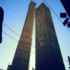 Photo taken at Torre Degli Asinelli by Alberto P. on 12/28/2012