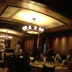 Photo taken at Wolfgang's Steakhouse by Angela S. on 9/25/2012
